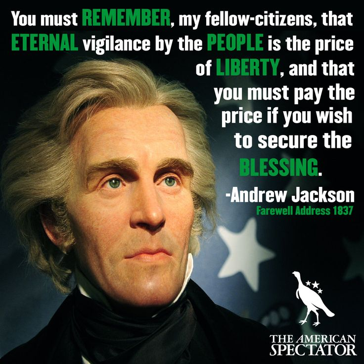 the tyranny of andrew jackson Free essay: the tyranny of andrew jackson andrew jackson: the common man or the first king of america he is viewed by history in many different ways, some.