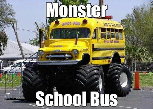 #Monster #SchoolBus #BusMartInc #CoolBus
