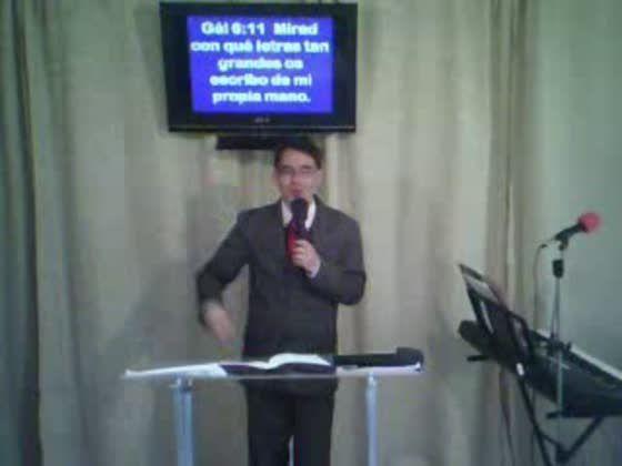 la iglesia cristiana bajo la LEY galatas 6:11-18