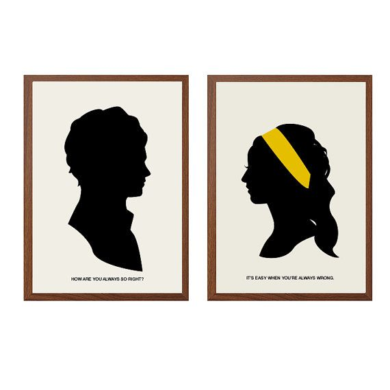 Gossip Girl  So Right Poster  Serena  Dan Humphrey by sealhouette, $26.00