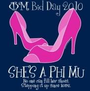 Phi Mu Bid Day