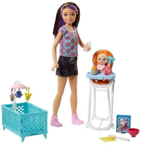 Mattel Barbie(R) Skipper(TM) Babysitters Inc. Doll and Playset
