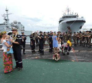 Le+Bougainville,+un+bâtiment+multi-missions,+est+arrivé+à+Papeete