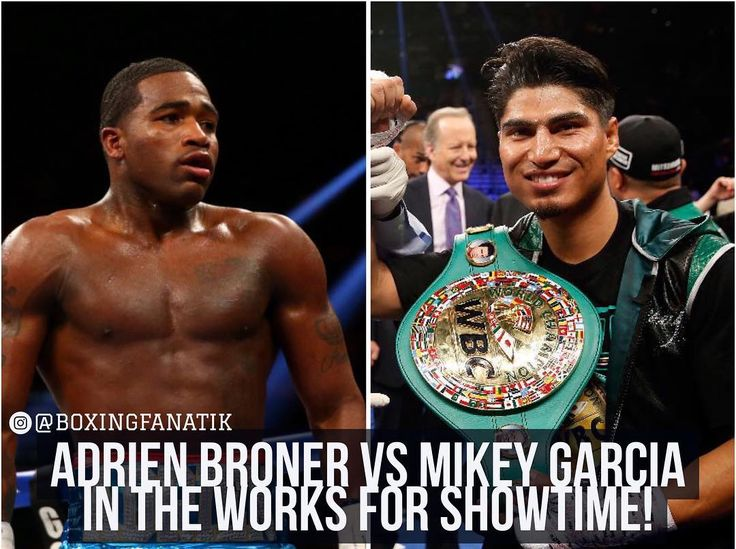 Last month, Showtime unveiled their 2017 spring boxing schedule and revealed that both multi-division former world champion Adrien Broner and WBC lightweight champion Mikey Garcia were expected to make their ring returns this summer, but in separate events. Evidently, plans have changed. Multiple sources have informed FightHype.com that a summer showdown between Broner and Garcia is currently in the works.