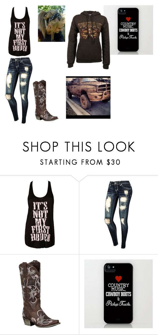 """""""Going to the rodeo!"""" by horses4ever1322 ❤ liked on Polyvore featuring Haute Hippie and Lane"""