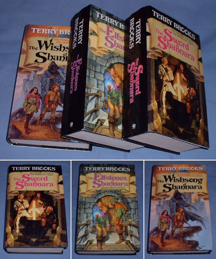 The Sword of Shannara Series... one of the first fantasy series i read. By Terry Brooks