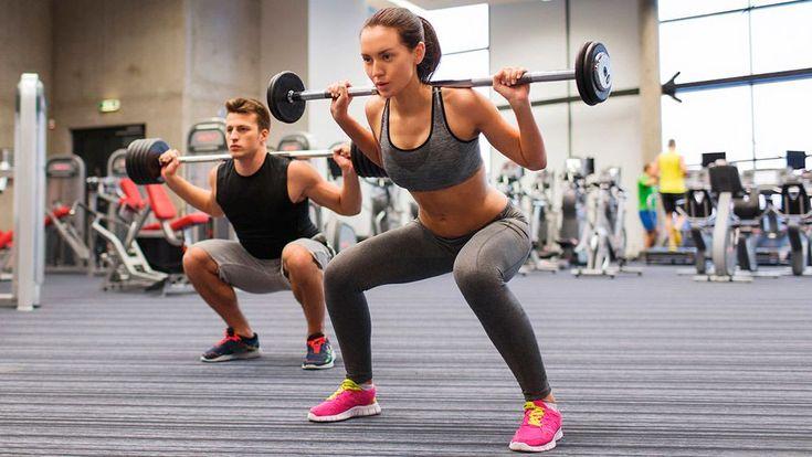 Кардио и силовые упражнения для похудения