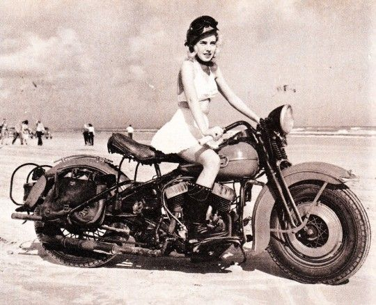 Wonder if that's really her bike.