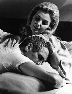 Paul Newman + Joanne Woodward | http://twelvevacancies.tumblr.com/post/16000101210