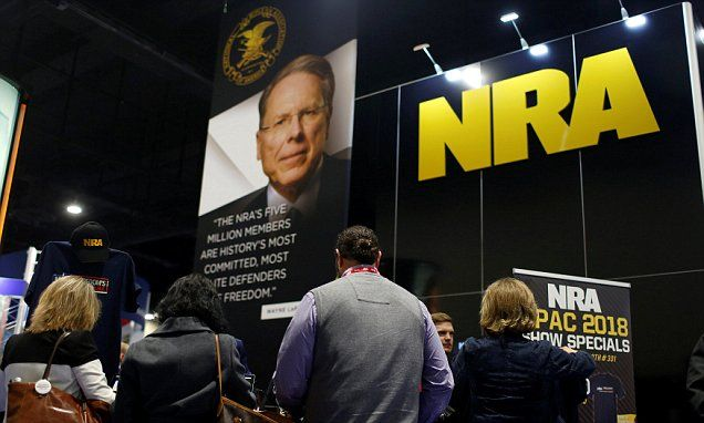 US companies cut ties to NRA after school shooting   Daily Mail Online