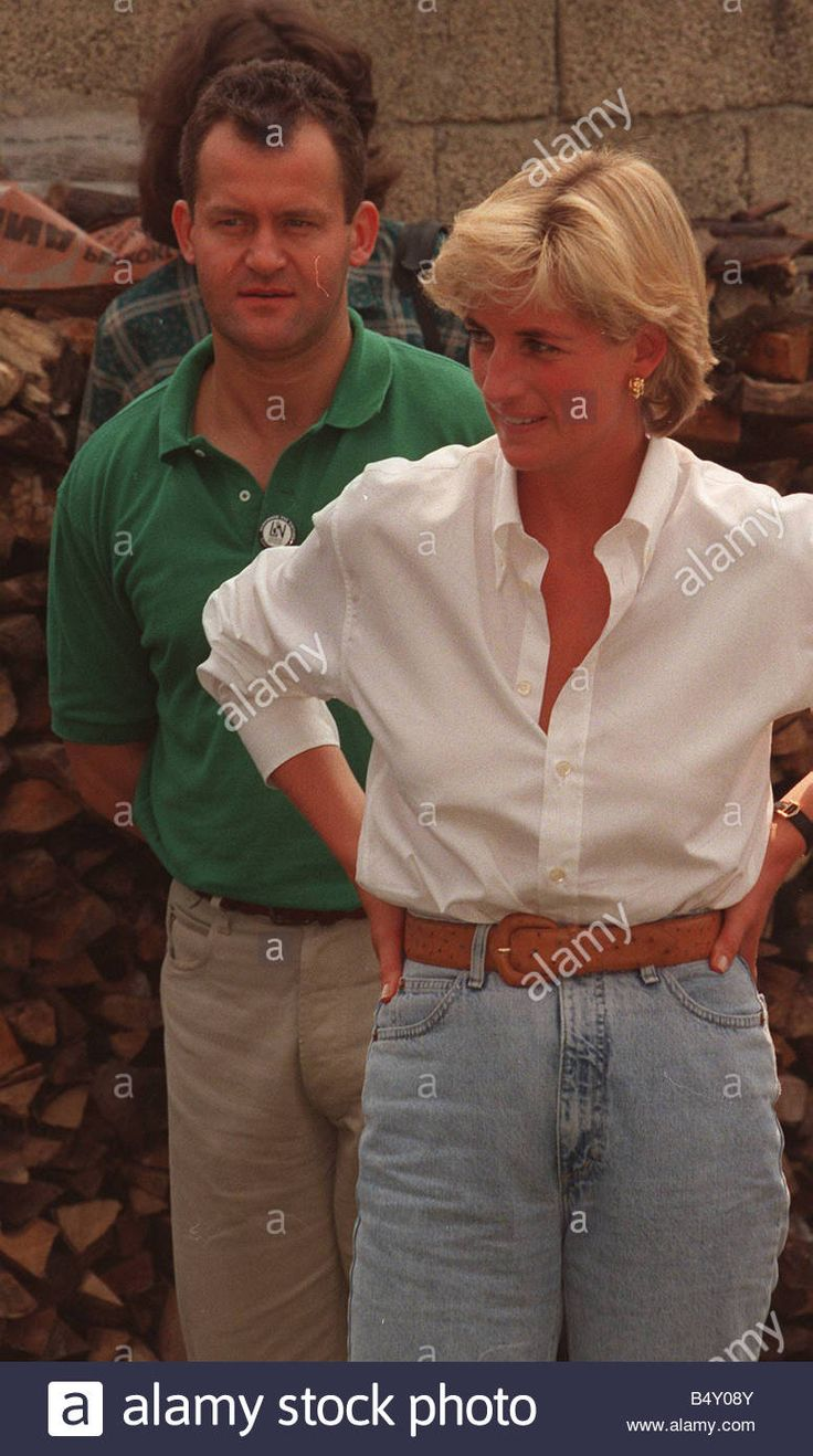 Princess Diana visits Bosnia for three days in August 1997.