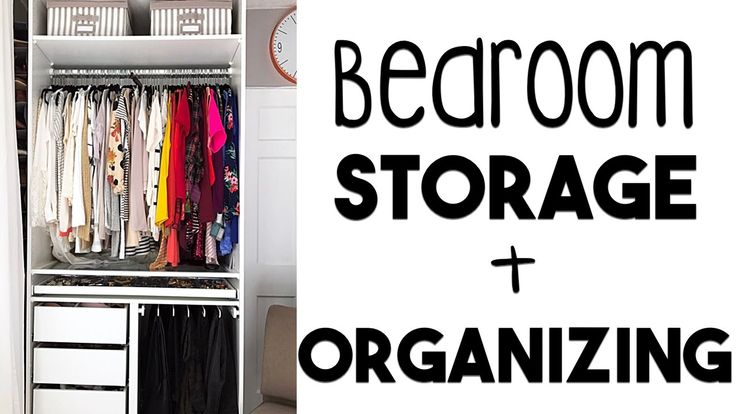 5 Tips to Bedroom Organization & Storage | Making the MOST of Our Small ...