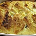 """recette Pudding Anglais """"Bread and butter"""""""