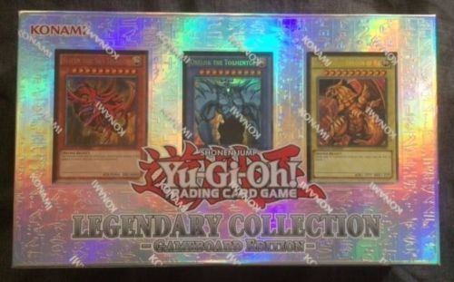 YuGiOh LEGENDARY COLLECTION Gameboard Edition Gods Cards Trading Cards Justopend #YuGiOh