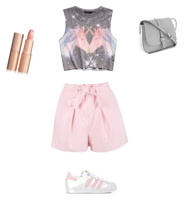"""Untitled #11"" by pacaca-gemela on Polyvore featuring Boohoo, Forever 21, adidas and Gap"