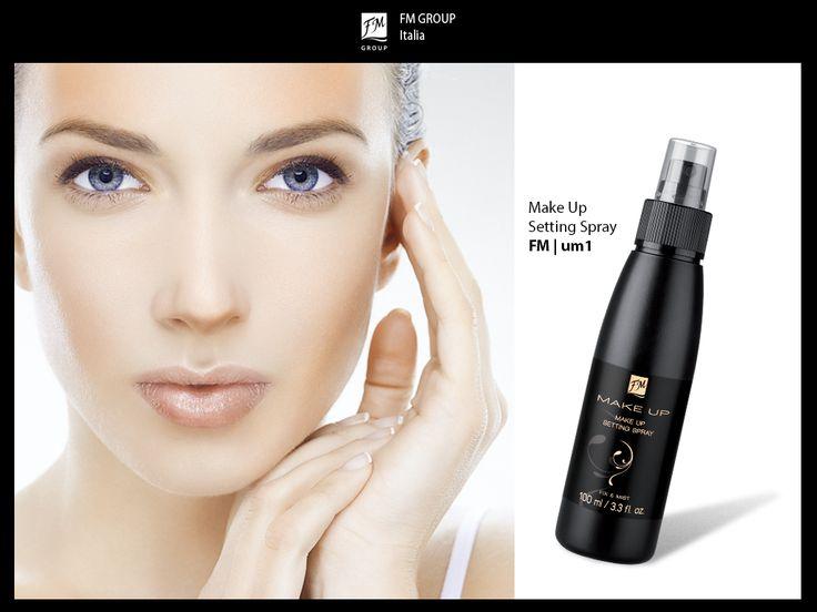 Fissatore trucco in spray: fissaggio e freschezza 2 in 1!  Sotto forma di nebbiolina leggera e idratante! Rinfresca la pelle e crea un film invisibile e leggero che protegge il trucco. Dona alla pelle un aspetto impeccabile che dura a lungo, senza effetto appiccicoso né sensazione di pelle tirata! #makeup #beauty #FMGroup #FMGroupItalia #mua #makeuplover #professional