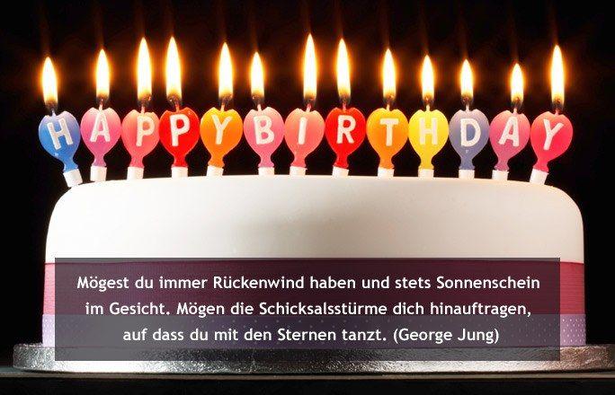 Geburtstagsspruch