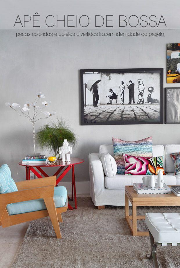 colorful living room #decor #sala