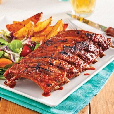Côtes levées, sauce au Jack Daniel's - Recettes - Cuisine et nutrition - Pratico Pratique