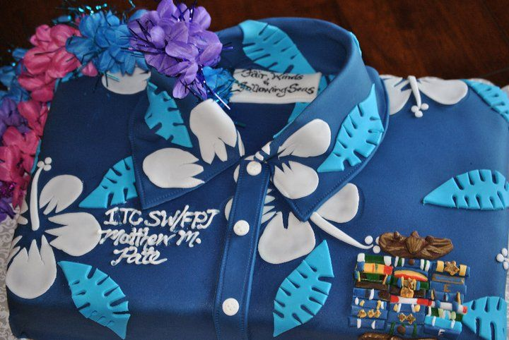 Navy Retirement Cakes Pictures