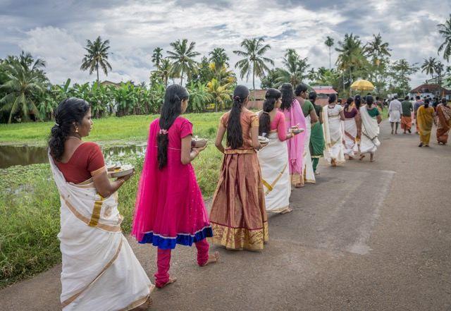 Kerala Backwaters Südindien