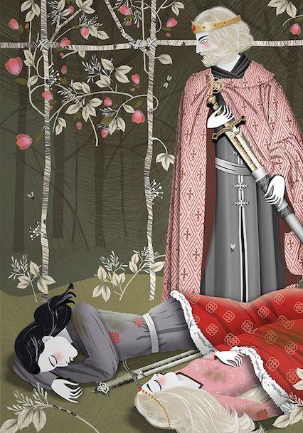 """Valentine Manceau """"Tristan et Iseut"""""""