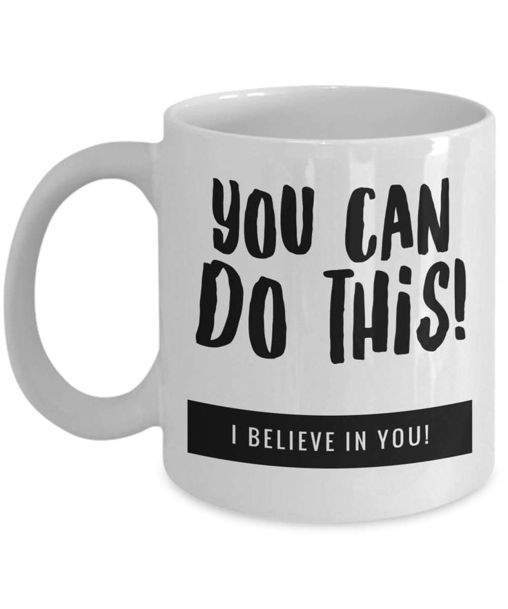 You can do this coffee mug, I believe in you Mug, Inspiring Quote Mug, Travel Coffee Mug, Makes a great Mug Gift! by BearHugBoutique on Etsy