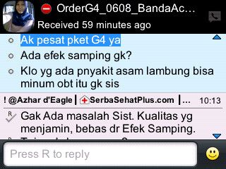 Pengiriman Lainnya #PaketPenggemukBadan ke Banda Aceh...