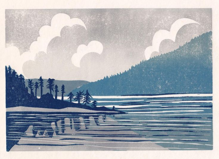 Buy Leaving Saltery Bay, Linocut by Alison Deegan on Artfinder. Discover thousands of other original paintings, prints, sculptures and photography from independent artists.