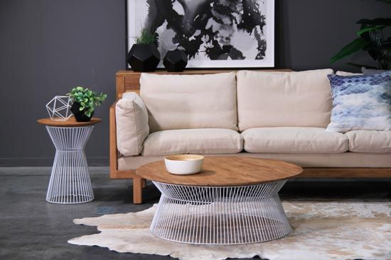 GCT415-W Eden Cage Coffee Table