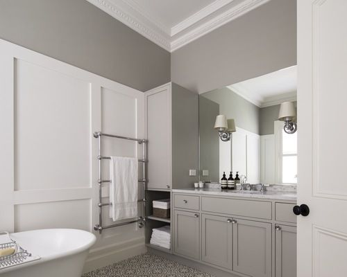 Brushed Chrome Bathroom Radiators: 12 Best Heated Towel Rails Images On Pinterest