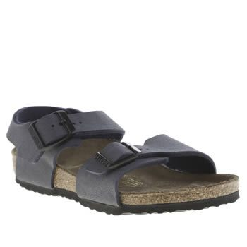 Birkenstock Navy New York Boys Junior Your little one can roam around the Big Apple in true Birkentstock style as the New York lands at schuh. Downsized for kids this two-part man-made sandal arrives in navy with a supportive back strap a http://www.MightGet.com/january-2017-13/birkenstock-navy-new-york-boys-junior.asp