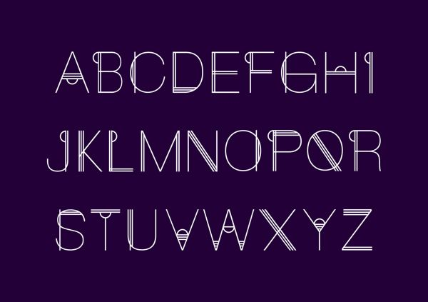 Cideco Typography by Rochelle Williams, via Behance