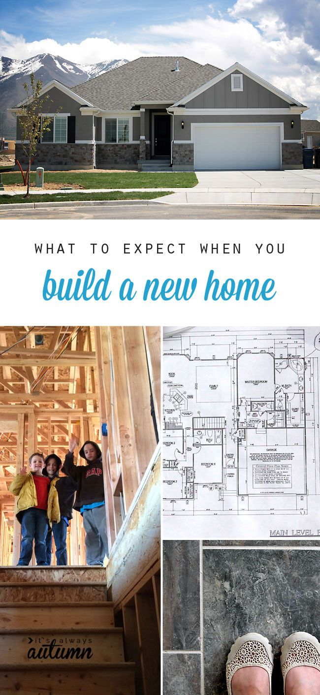 What To Expect When You Build A New Home