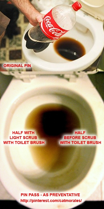 Clean Your Toilet with Coke from WikiHow