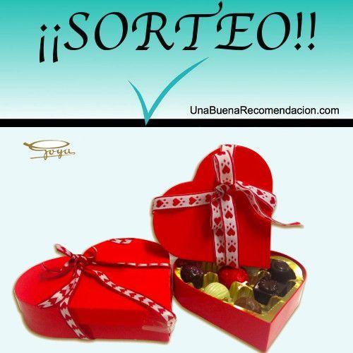 Sorteo San Valentín Caja Bombones Confituras Goya