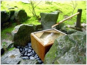 Japanese Fountain Is Interesting For You To Try In Home