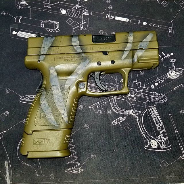 158 best gunz images on pinterest firearms accessories and catalog springfield armory xd in a ripped tarjac green springfieldxd cerakote 9mmheater had sciox Choice Image