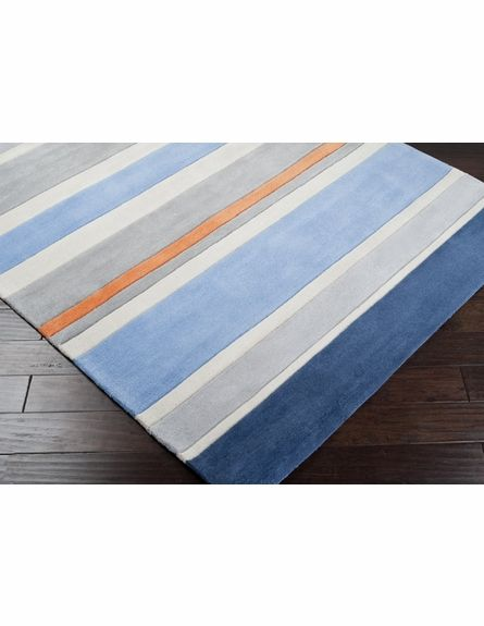 Gray Blue Stripes Rug Gray Boy Nautical Nursery And Nursery
