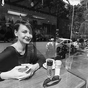 So much love for this girl. #bonafidemass #myperson #theharleydavidsonwoman #braamfontein #beardedlady #bonafidebeards #smilingfordays #motorcycles #RayBanSA #reflection