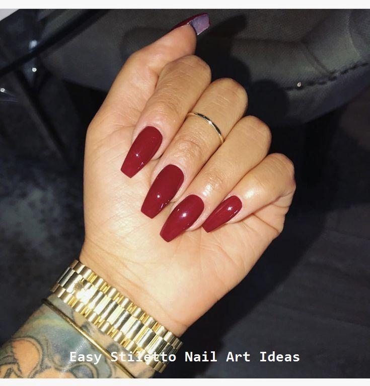 30 Great Stiletto Nail Art Design Ideas #nail – Stylish Stiletto Nails