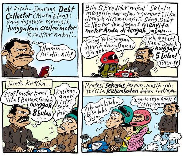Mice Cartoon, #KomikJakarta - Oktober 2014: Debt Collector Humanis