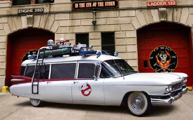 Ghostbusters car under the hammer  - Telegraph