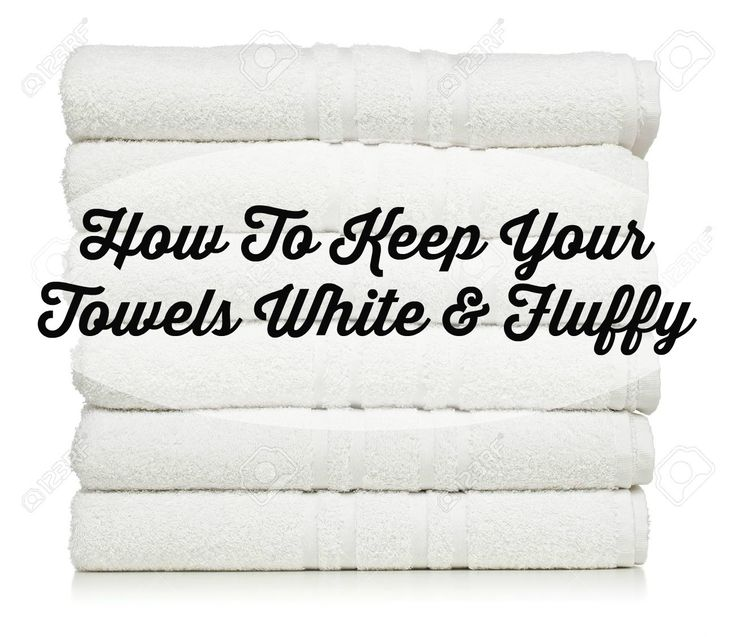 The Glam Farmhouse: How To Keep Your White Towels Fluffy!