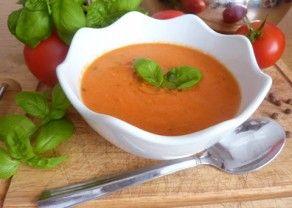 Fotografie článku: Recept na polévku z pečených rajčat krok za krokem