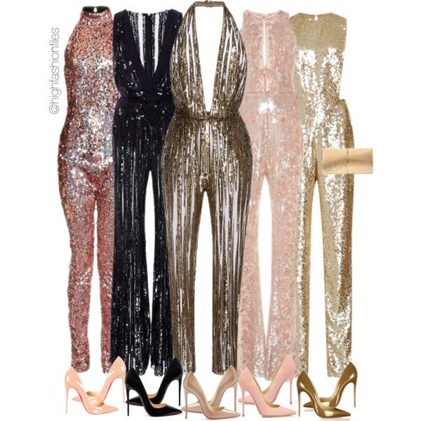 A fashion look from December 2016 featuring Elie Saab jumpsuits, Zuhair Murad jumpsuits and Topshop jumpsuits. Browse and shop related looks.
