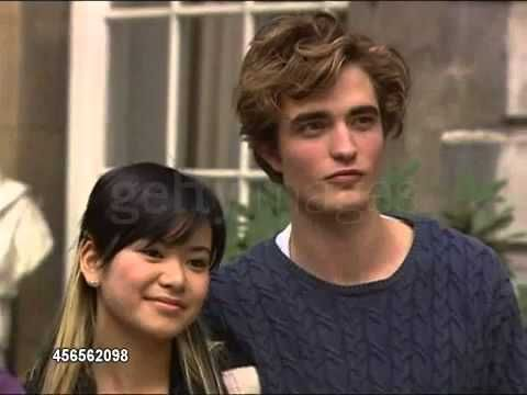 ▶ New/Old video of Rob Pattinson with the other HP: Goblet of Fire cast at a London photocall - YouTube