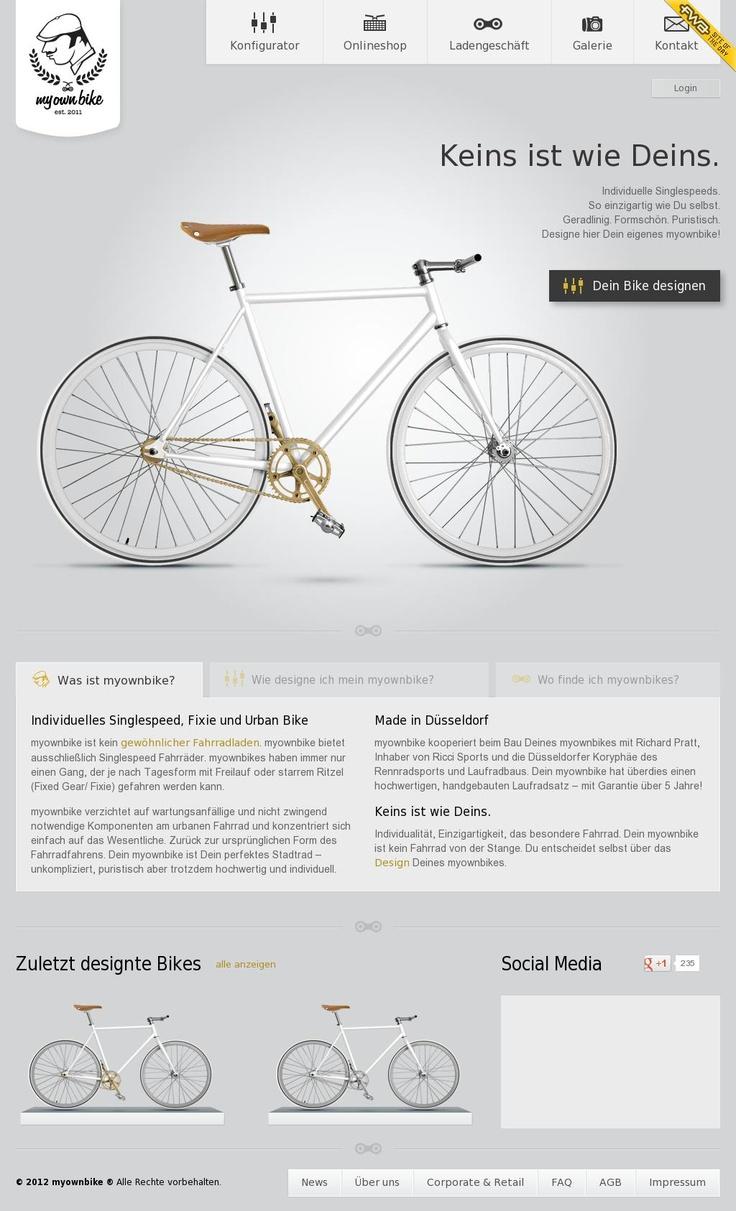 #bike ##webdesign #inspiration #Professional and  Modern Web Designs