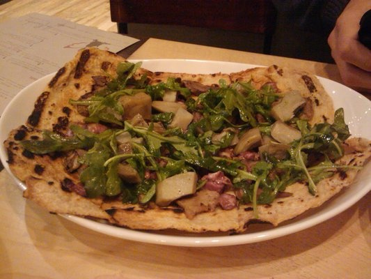 Pickled lamb tongue flatbread at The PeasantryPickles Lambs, Tongue Flatbread, Lambs Tongue, Foodies Obsession
