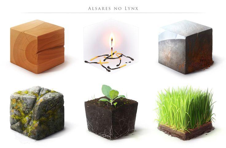 Material Study II by AlsaresLynx on DeviantArt